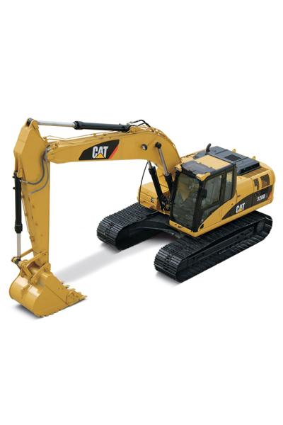 产品详情 模型名称:cat卡特彼勒552141:50卡特液压型履带挖掘机模型图片