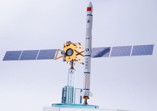 火箭卫星模型组合