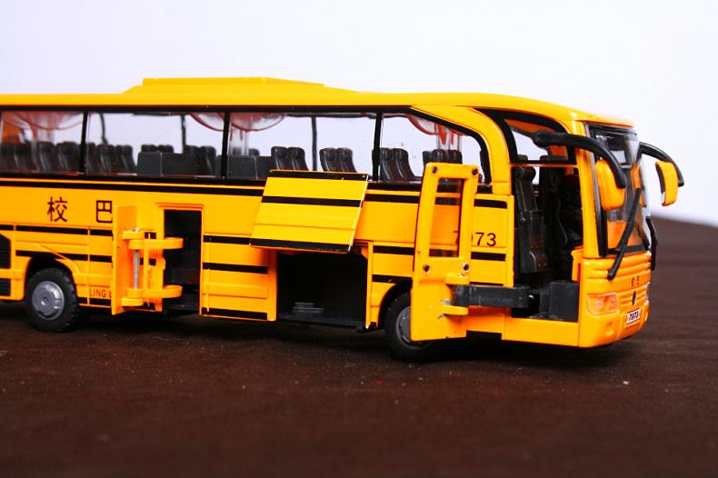 校园客车模型