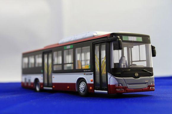 北京公交车模型