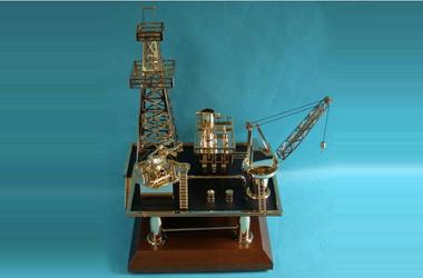 石油钻井平台模型