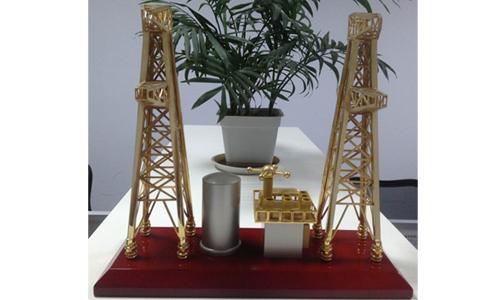 陆地石油钻井平台模型