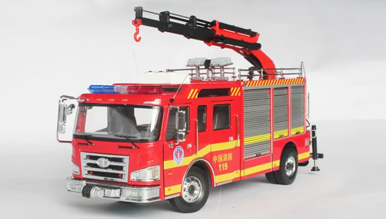 抢险救援消防车模型