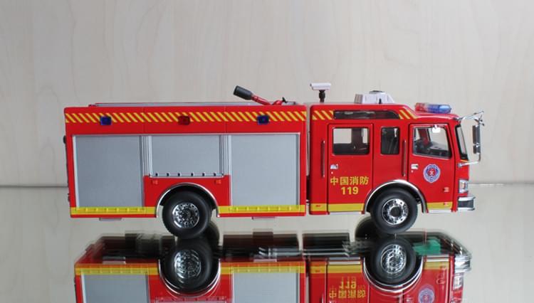 城市主战消防车模型
