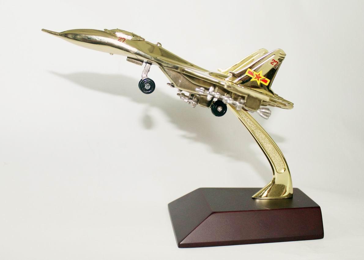 苏-27战斗机模型