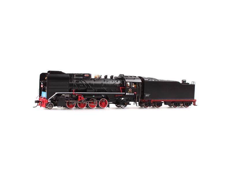 上游型火车模型