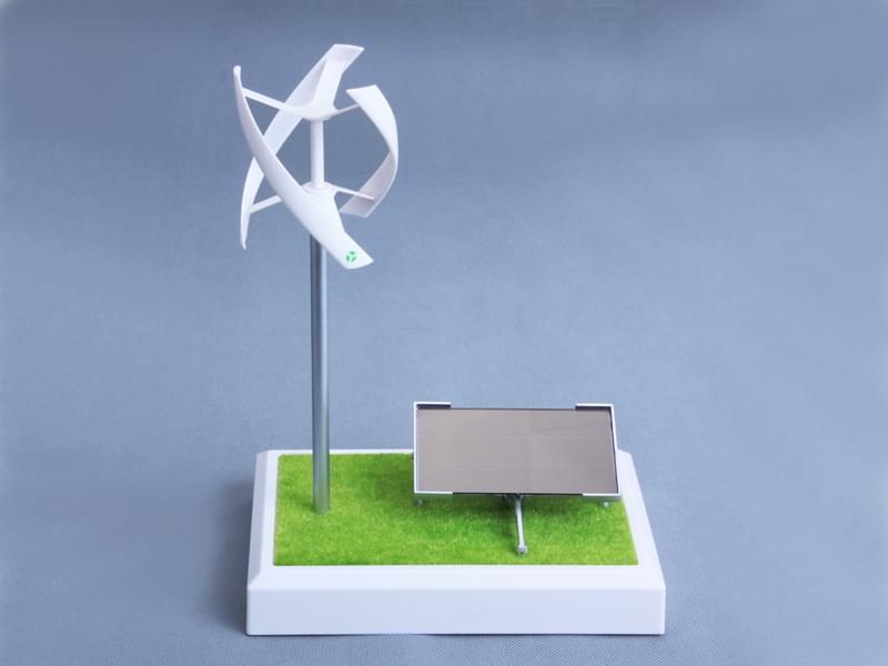 H型垂直轴风机模型CZZ-02-P