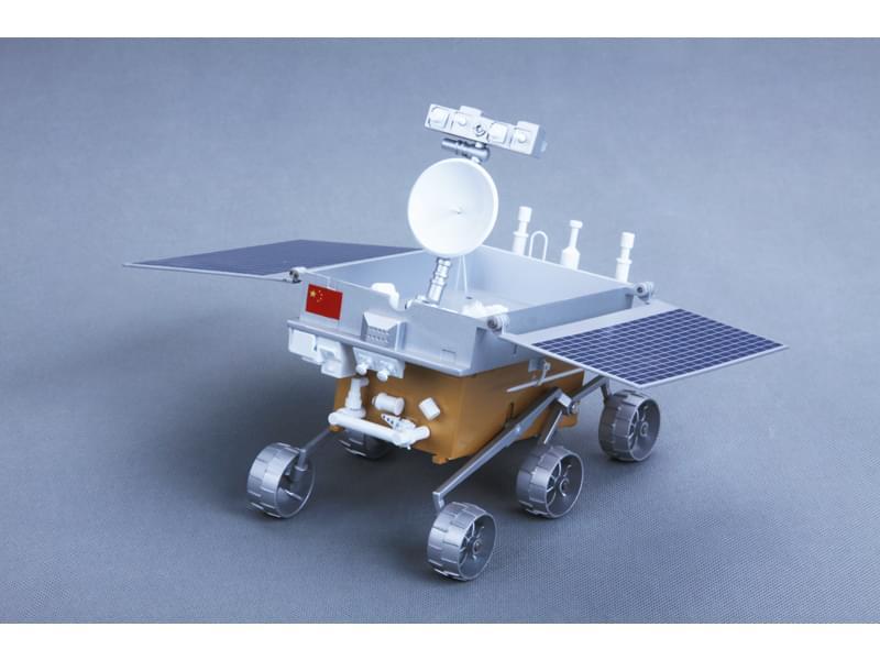 玉兔号月球车模型