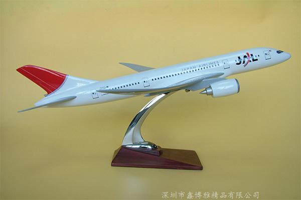 客机模型展示